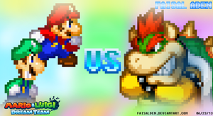 Mario and Luigi: Dream Team - Guess who's back by FaisalAden