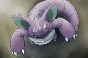 Nidoking by Weyard