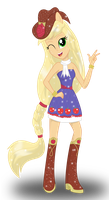 Applejack by DeannaPhantom13