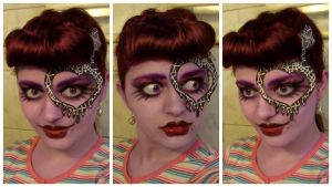 Monster High Operetta make-up transformation by L-Justine