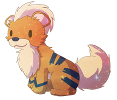 Growlithe by BlueyyCat