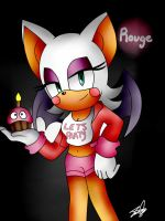 Rouge the bat (Toy Chica) by IdalYaoiSonic1344
