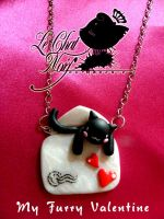 My Furry Valentine-Love Letter by LeChatNoirHandMade