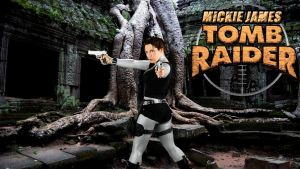 Mickie James Tomb Raider wp 2 by SWFan1977