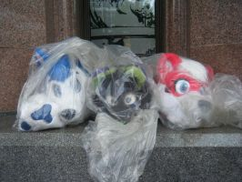 MCM 2014 - HoboCon (Trash Bag Furrys) by InsaneSpyro