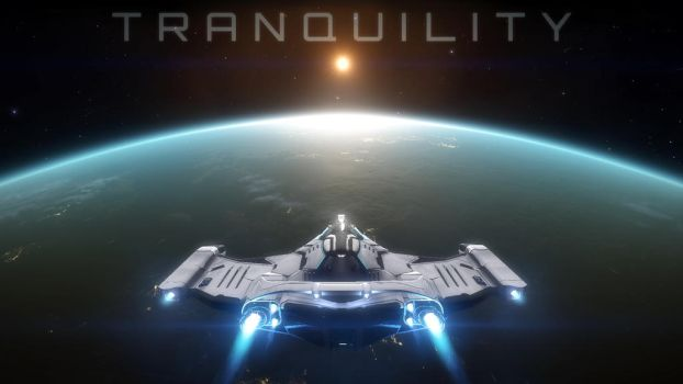 Tranquility - Elite: Dangerous wallpaper by Araen