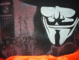 V for vendetta by Deathmonkey77