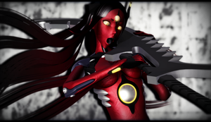 -MMD- Trioxygen by WonderWhimsi
