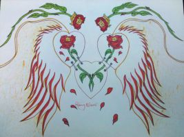 roses of angel by Remy1983