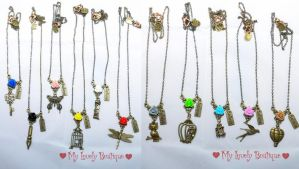 Vintage Necklaces by TheLovelyBoutique