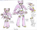 Luna Ref :Both Forms: by SurgeCraft