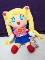 Sailor Moon Plushie by CaroSpecialist