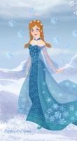 Snow Queen Maker-Anna the Snow Princess by Astrogirl500