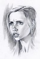 Buffy Sketch 001 by jeffzombie37