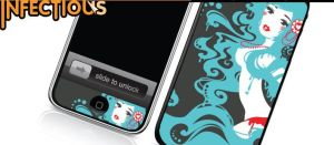 Iphone skin- sale by Blush-Art