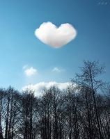 Heart Shaped Cloud by SenselessDot