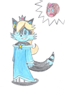 ZX as Rosalina (After loosing a bet...that is all) by ZXlina