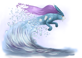 Suicune by superpsyduck