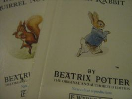 Mini books - Beatrix Potter by Dodephine