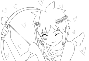 WIP - Playing Cupid by Strawberry-Kyril