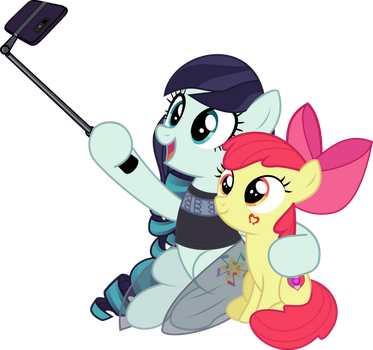 Selfie with Applebloom by jhayarr23