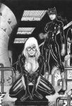 Cat Woman/Black Cat by vagnerskyblue