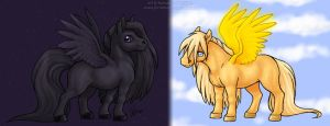 Night and Day by celesse