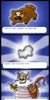 Bidoof is Evolving... by PapaPicosa