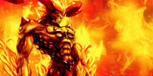 Fiery Ifrit by Darfreeze