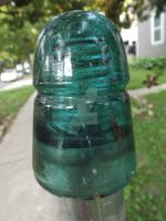 Old Glass Insulator 1 by Tails-155