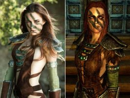 Skyrim - Alea The Huntress by Dragonborn-Miraak