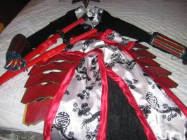 Samurai Halloween Costume II by singlet