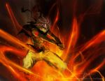 Fist of the Fire Dragon_Natsu by LarizSantos