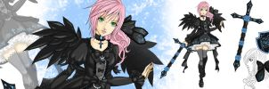 Lightning returns contest Gothic Lolita Outfit by Irudisu