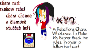 Kyo The Rebel by angelofcryinghearts
