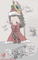 Have a Merry Loki Christmas by DarkFerreh