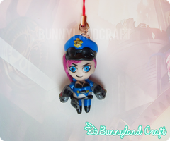 Offiver VI Keychain by BunnyLandCraft