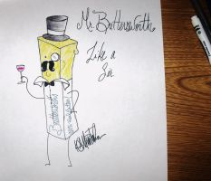 Monsieur Buttersworth :'D by SquidKidComics