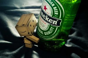 Danbo Straight edge 2 by RyanKim