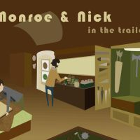 Grim - Nick + Monroe - In the trailer by Bisho-s