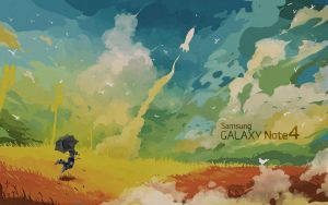 GALAXY NOTE 4 -EgFoxDesign-1920x1200 by Eg-Art