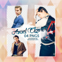 Pack png 393 - Ansel Elgort by worldofpngs