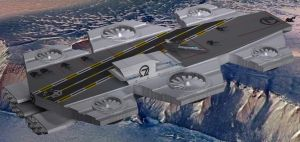 Omega 7 Helicarrier Columbia-V3-A by Roguewing