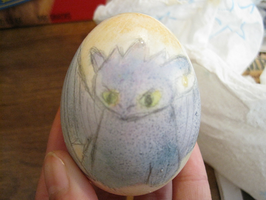 Toothless Egg by TaoKyuubimon