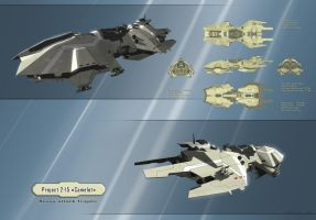 Camelot - Heavy attack frigate by Aldeminor