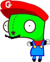 gir as mario by ItsmeJonas