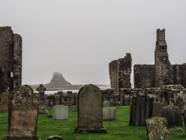 Abbey at Lindisfarne. Northumbria. England. by jennystokes