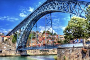 Dom Luis I Bridge 08 by abelamario