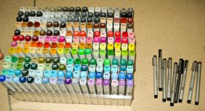 My Copic Markers by Mallemagic