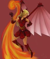 Fire Dragoon by xReperio